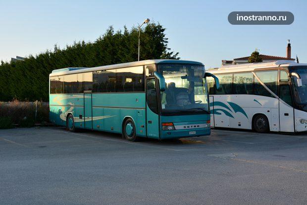 Greece bus price