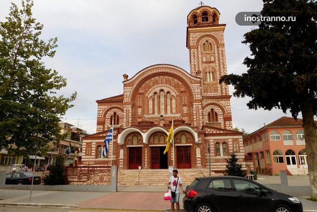 Православный храм в Неа Калликратии
