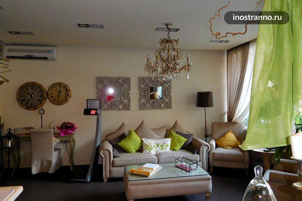 Отель в Греции