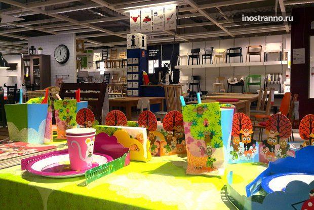 Магазин IKEA в Праге