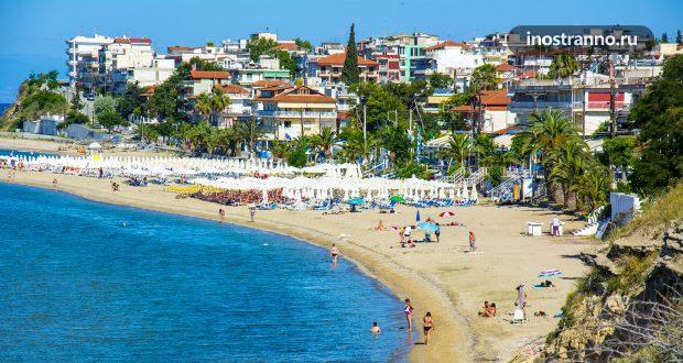 Неа Калликратия — греческий курорт на Халкидиках