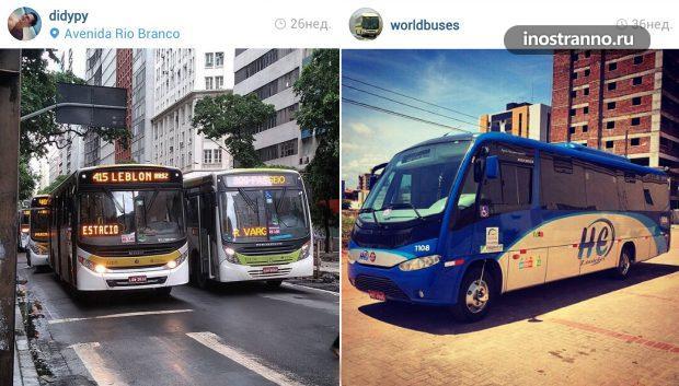 Автобус в Рио-де-Жанейро