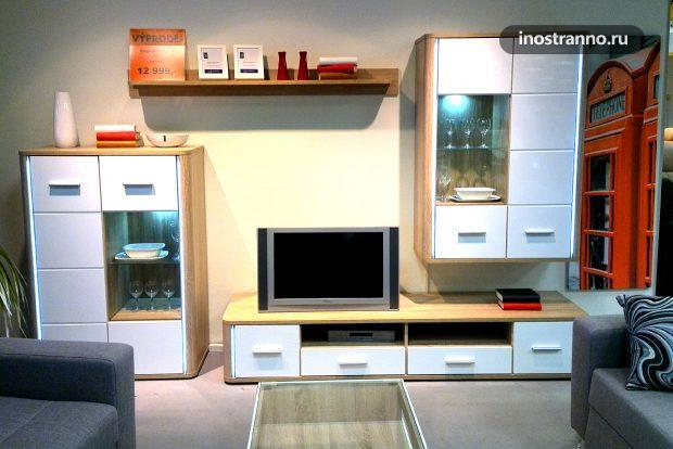 Мебельный магазин Sconto в Праге