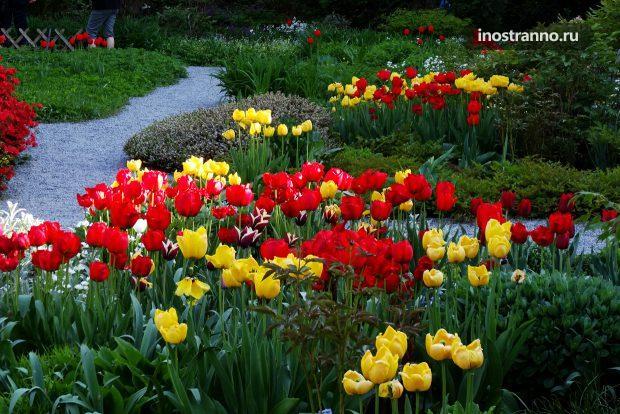 Сады в Праге