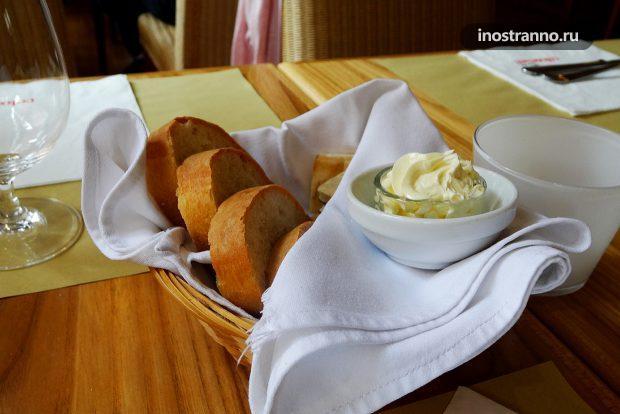 Платные закуски в ресторане
