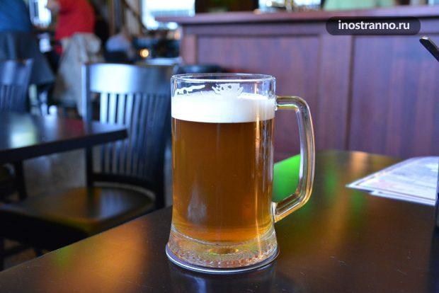 Недолив пива в ресторане