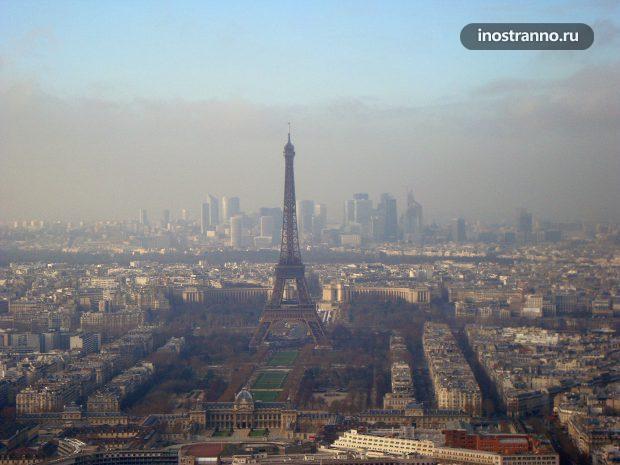 Смотровая площадка на башне Монпарнас