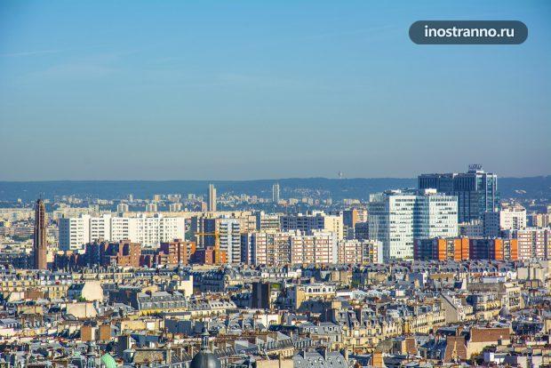 Панельные дома в Париже