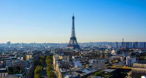 Фотографии Парижа с обзорной площадки на Триумфальной Арке