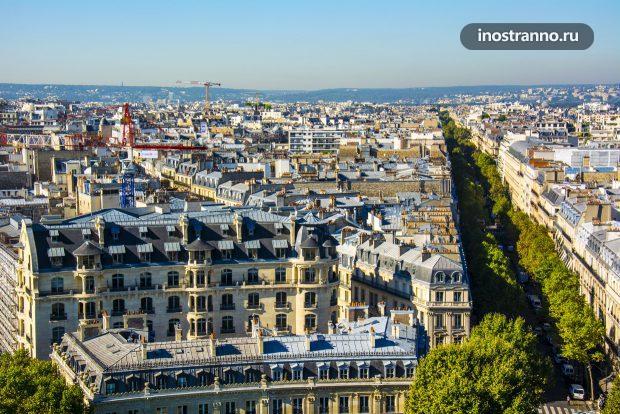 Крыши Парижа