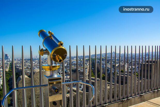 Телескоп в Париже