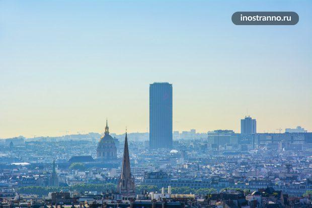 Башня Монпарнас и Дом Инвалидов