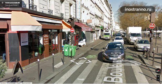 Неблагополучный 19 и 20 округ Парижа