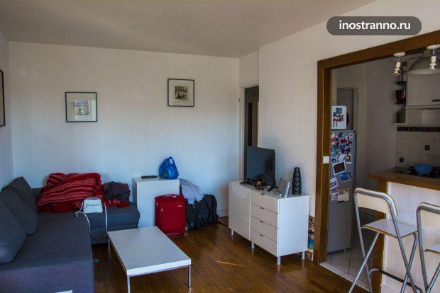 Аренда хорошей квартиры в Париже