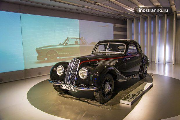 BMW 327 1938 ретро автомобиль