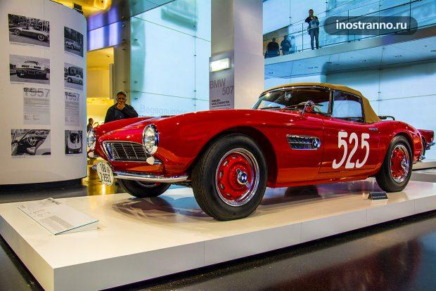 BMW 507 ретро родстер