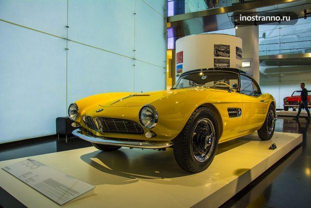 BMW 507 в авто музее