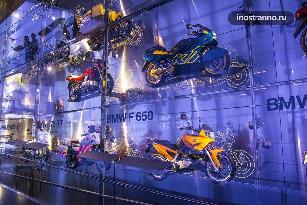 БМВ мотоциклы в музее