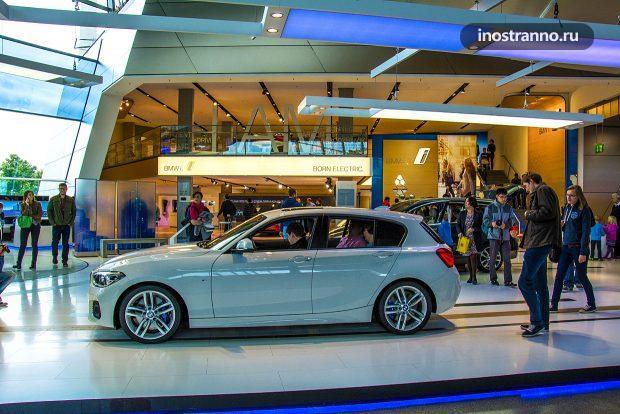 BMW Welt в Мюнхене