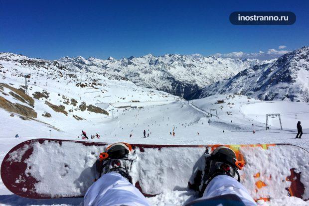 Лыжный курорт Европы