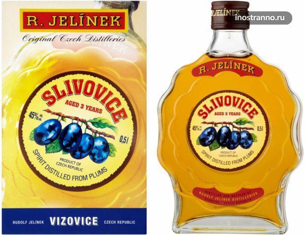 Чешский крепкий алкоголь Сливовица