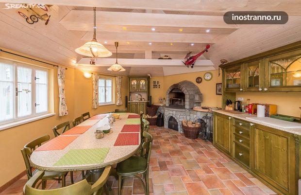 Дом в чешской деревне