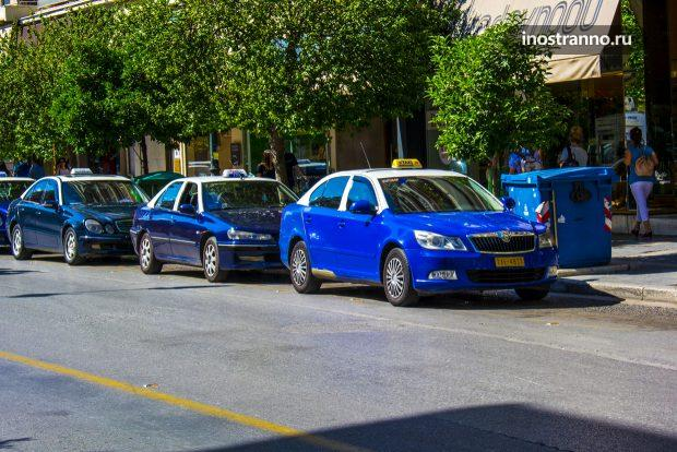 Такси на Крите