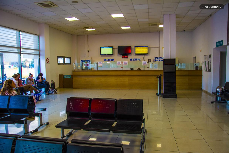 Автовокзал Ктел в Салониках