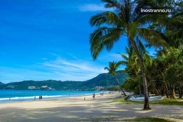 Пляж Патонг на острове Пхукет