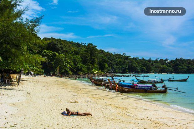 Пляж острова Пхи Пхи Дон