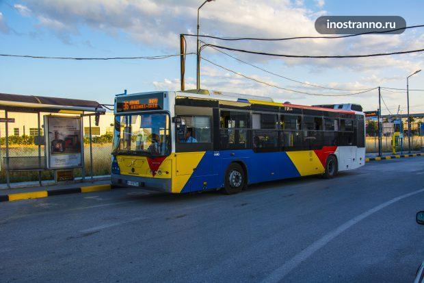 Общественный транспорт в Греции