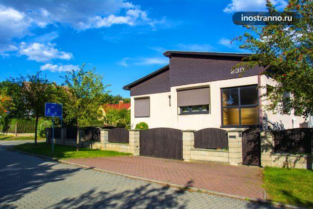 Семейный дом в Праге