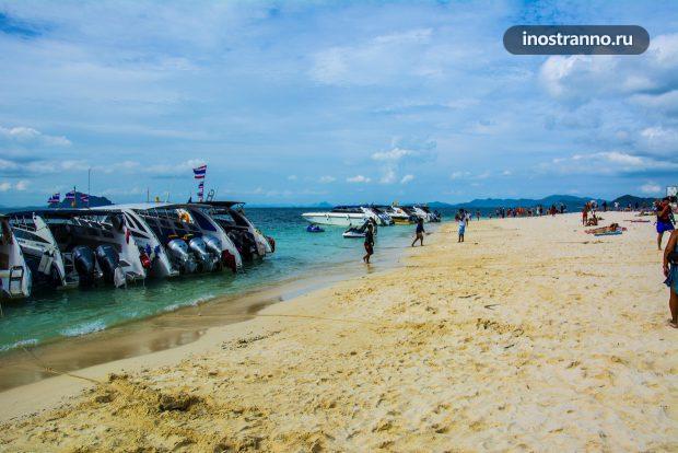 Экскурсия с Пхукета на остров Пхи Пхи на 1 день