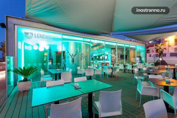 Lendas Bar летний бар Лагуш, Португалия, Алгарве