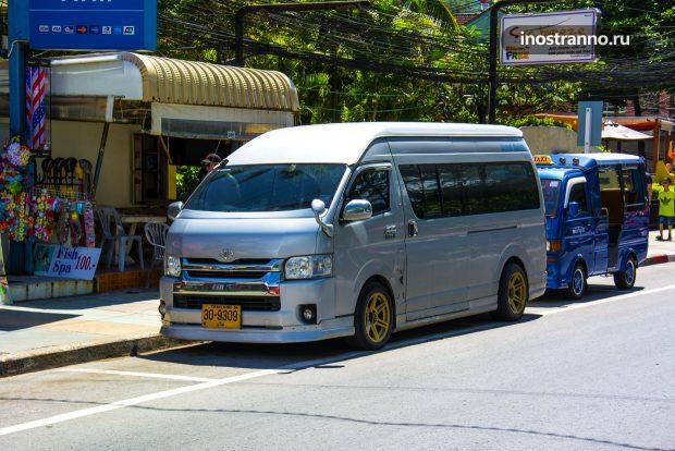 Экскурсионный автобус на Пхукете