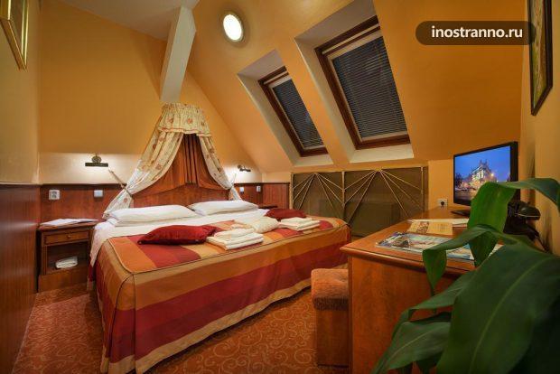 Отель Union Hotel в Праге