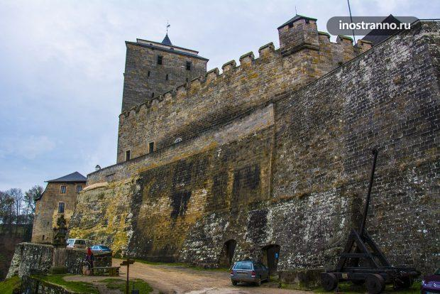Замок Кост рядом с Прагой