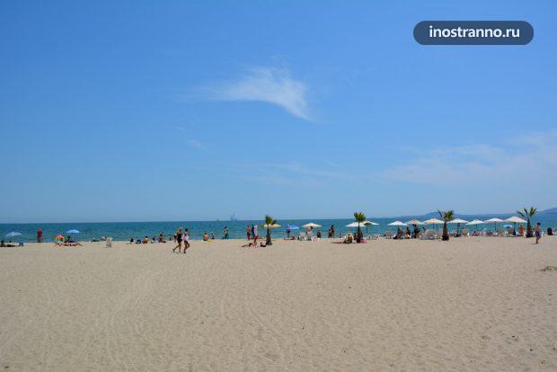 Курорт на Черном море Мамая в Румынии