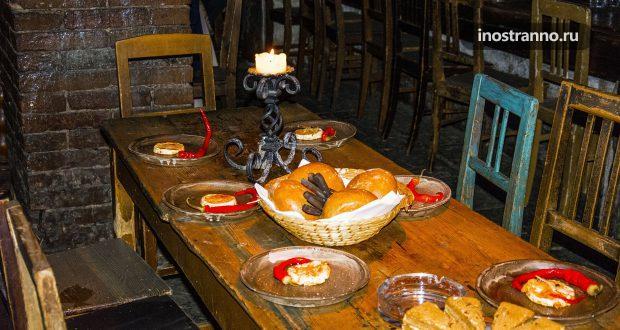 Средневековый ресторан в Праге У короля Брабантского