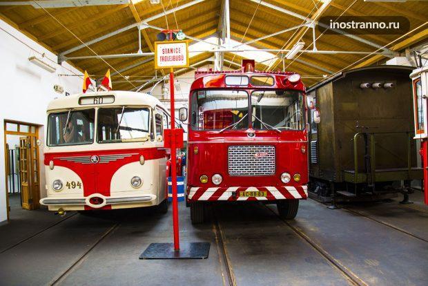 Пражский троллейбус