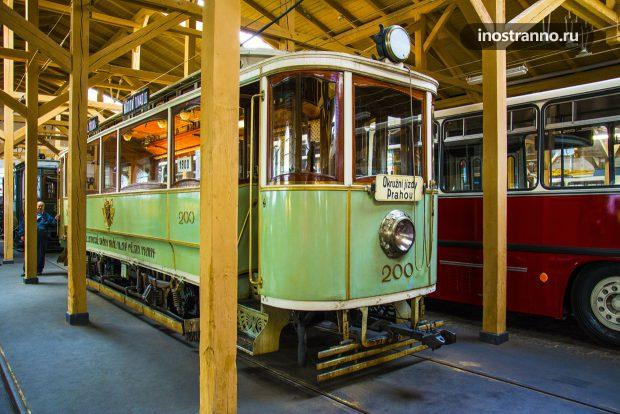 Мэрский трамвай в Праге