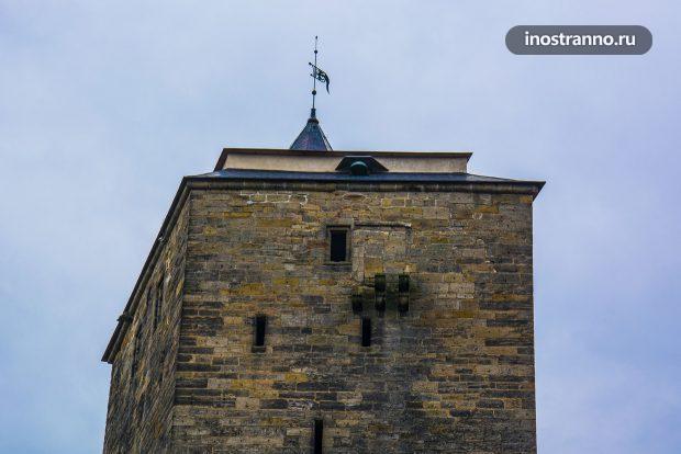 Башня на замке Кост