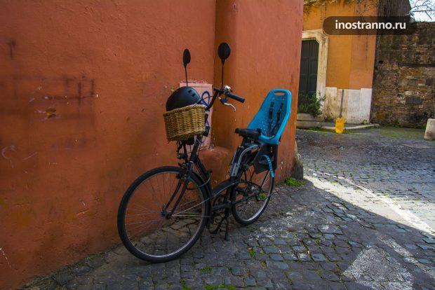 Велосипед в Риме