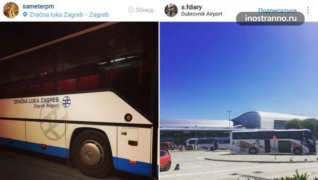 Автобус в Хорватии