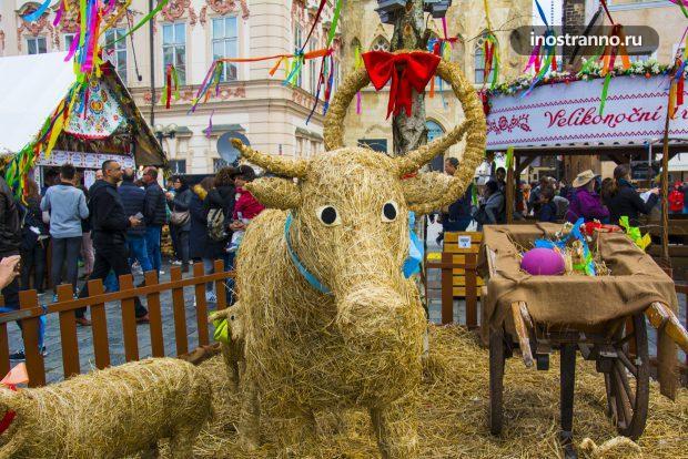 Прага и Пасхальная ярмарка