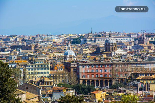 Смотровая площадка в Риме