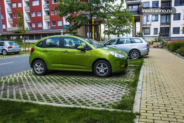 Правильная парковка в Европе
