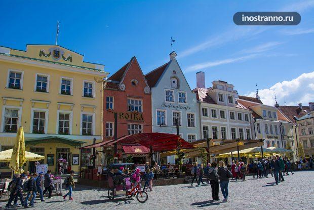 Площадь в Эстонии