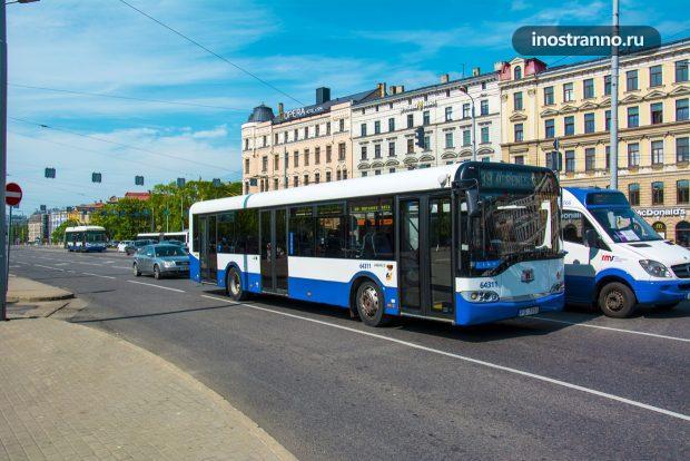 Автобус в Риге, общественный транспорт