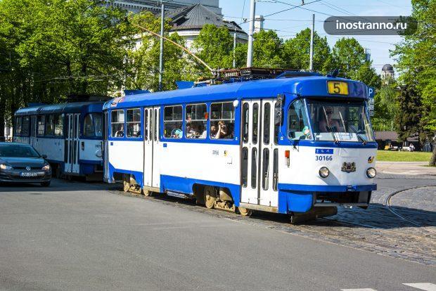 Рижский трамвай Tatra T3